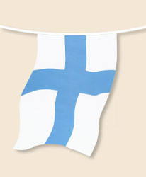 Finland Bunting - large