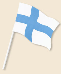 Finland Handwaving Flags