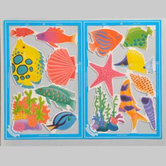 Fish and Seashells Serendipity Scrap Sheet