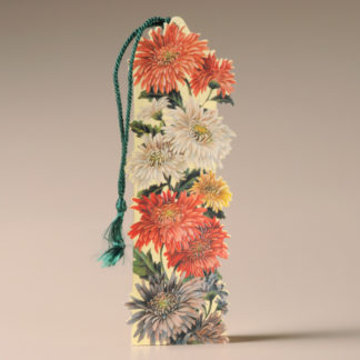 Floral Bookmark Card - Chrysanthemums
