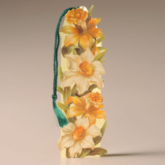 Floral Bookmark Card - Daffodils