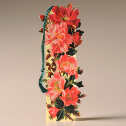 Floral Bookmark Card - Dog Roses