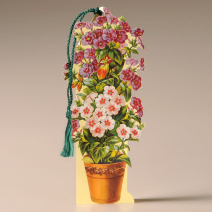 Floral Bookmark Card - Flower Pot
