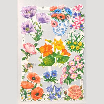 Floral Scrap Sheet 10