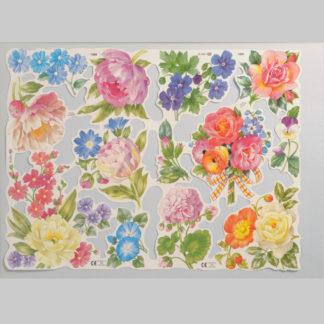 Floral Scrap Sheet 11