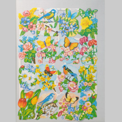 Floral Scrap Sheet 5