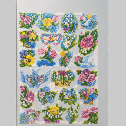 Floral Scrap Sheet 6