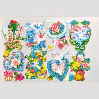 Floral Scrap Sheet 7