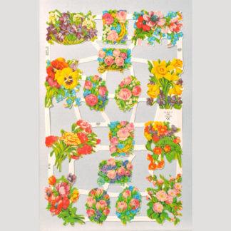 Floral Scrap Sheet 8