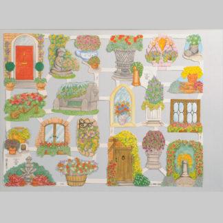Floral Scrap Sheet 9