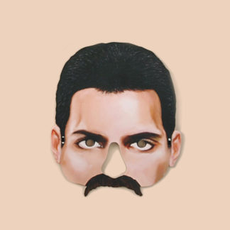 Freddie Mercury Party Mask