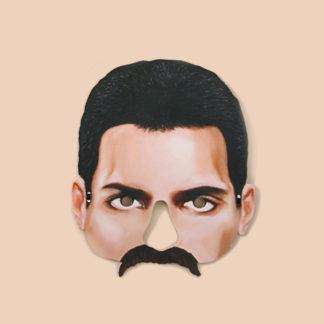 Freddie Mercury Party Mask