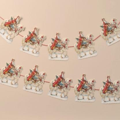 Garland - Santa on Horseback