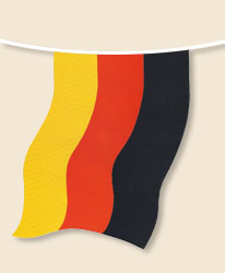 Germany Bunting - large