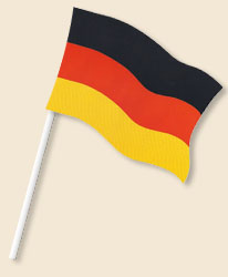 Germany Handwaving Flags
