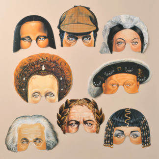 Historical Party Masks