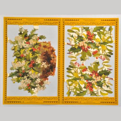 Holly Golden Scrap Sheet