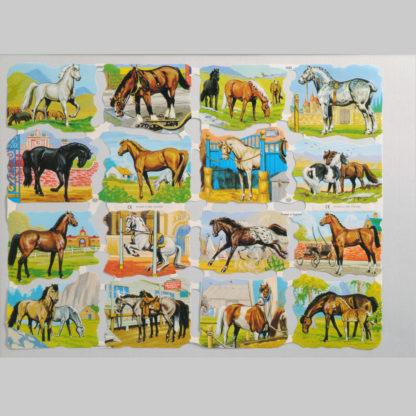 Horses Scrap Sheet 2