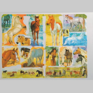 Horses Scrap Sheet 7