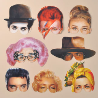 Icons of the Twentieth Century Party Masks