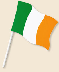 Ireland Handwaving Flags