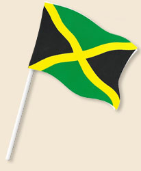 Jamaica Handwaving Flags