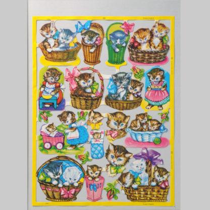 Kittens Scrap Sheet 1