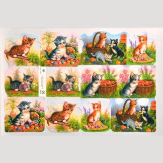 Kittens Scrap Sheet 3