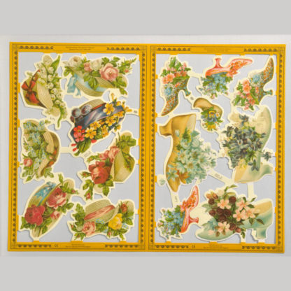 Ladies Accessories Golden Scrap Sheet