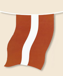 Latvia Bunting - small