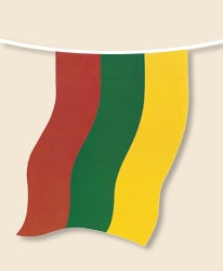 Lithuania Bunting - small