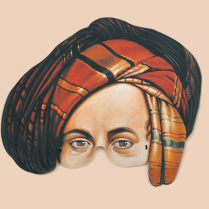 Lord Byron Party Mask