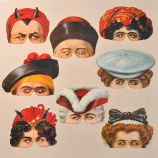 Madame Tussauds Party Masks
