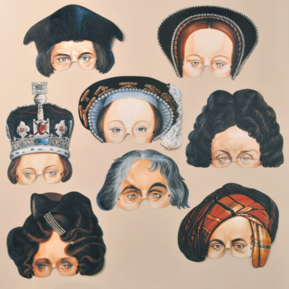 National Portrait Gallery Party Masks