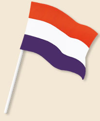 Netherlands Handwaving Flags