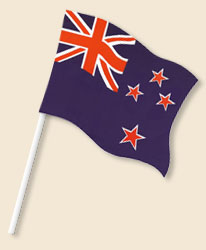 New Zealand Handwaving Flags