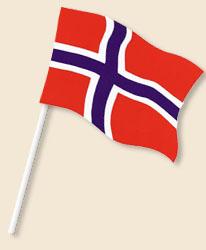 Norway Handwaving Flags