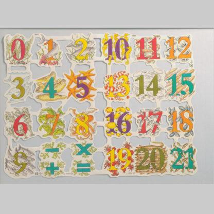 Numbers Scrap Sheet