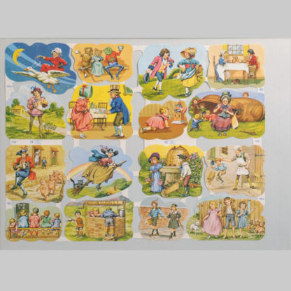 Nursery Rhymes Scrap Sheet 2