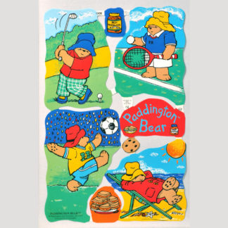 Paddington Bear Scrap Sheet 1-
