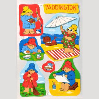 Paddington Bear Scrap Sheet