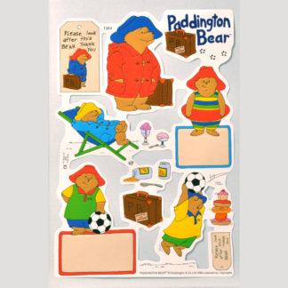 Paddington Bear Scrap Sheet 4