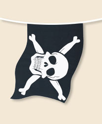 Pirate Bunting - small