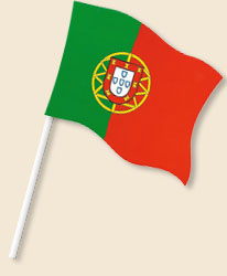 Portugal Handwaving Flags