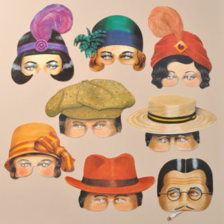 Roaring Twenties Party Masks