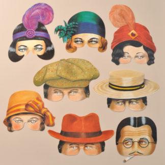 Roaring Twenties Party Masks