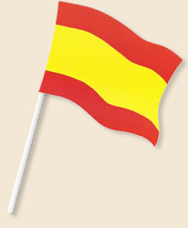 Spain Handwaving Flags
