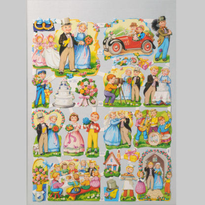 Special Occasions Scrap Sheet 1