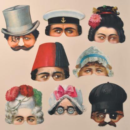 Stockholm Leksaksmuseum Party Masks