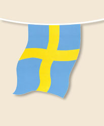 Sweden Bunting - small